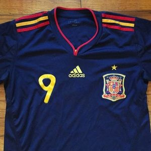 Adidas Spanish National soccer jersey Torres 9 SM